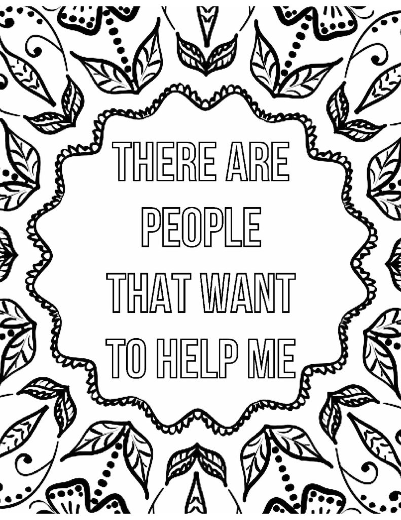 There are people that want to help