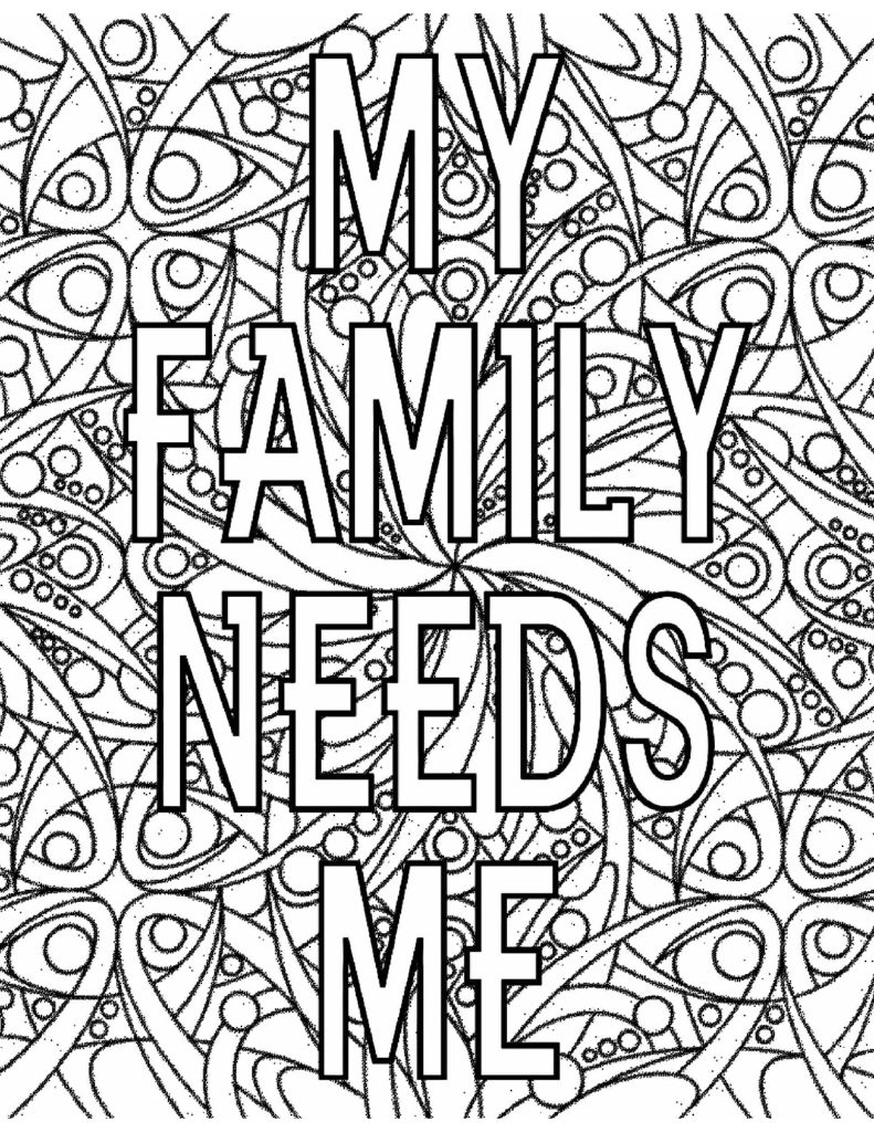 My family needs me