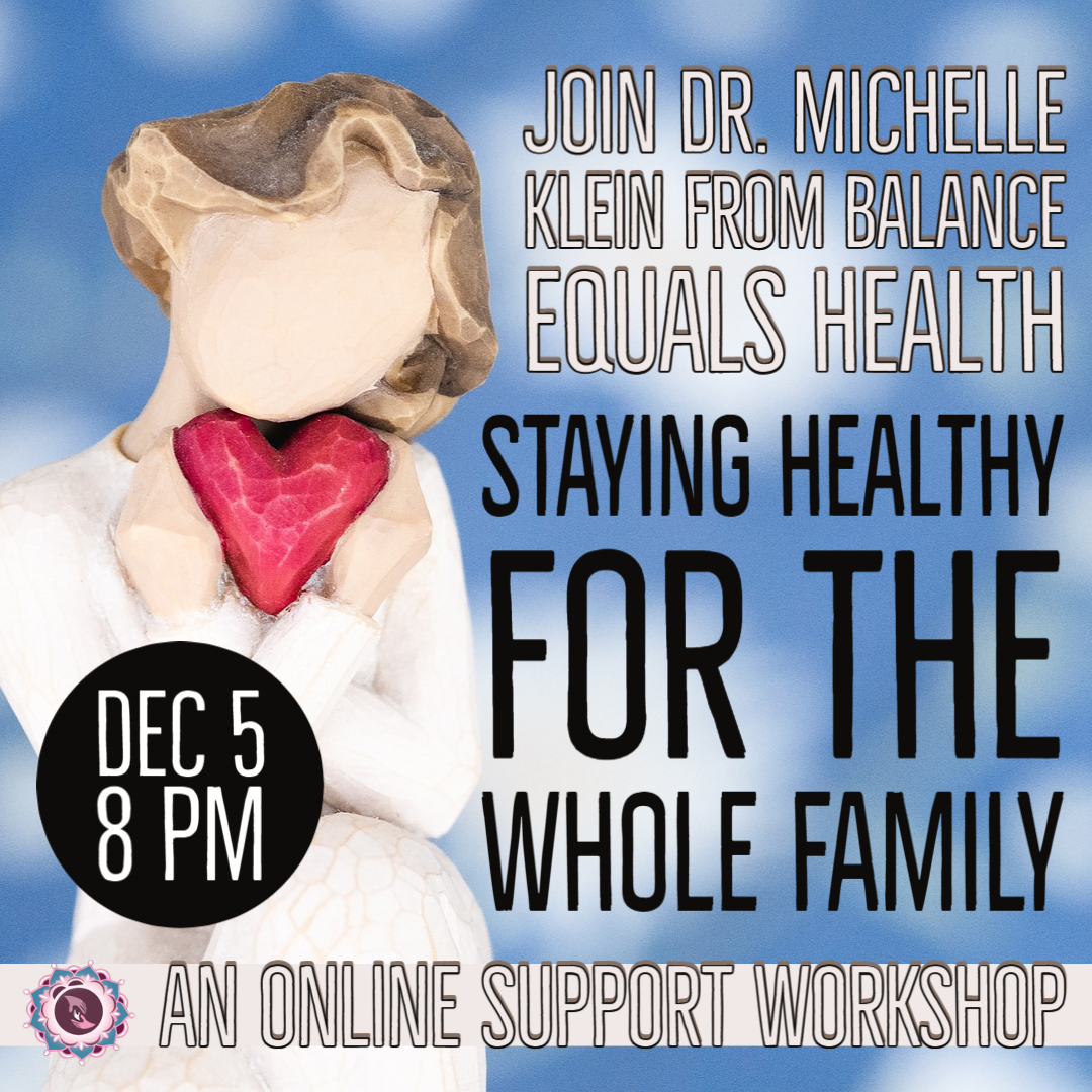 Staying Healthy for the Whole Family Support Workshop