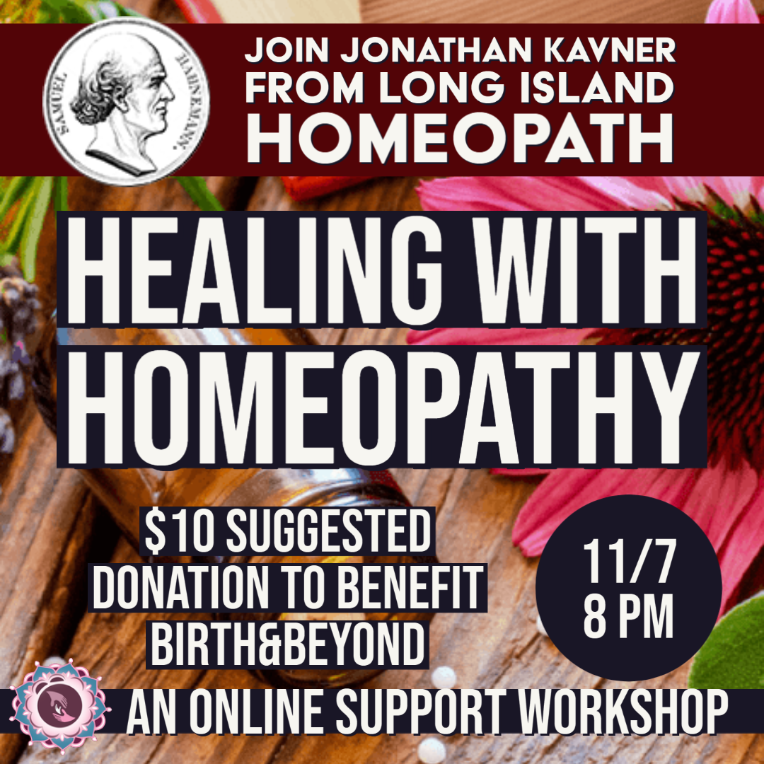 Healing with Homeopathy Support Workshop
